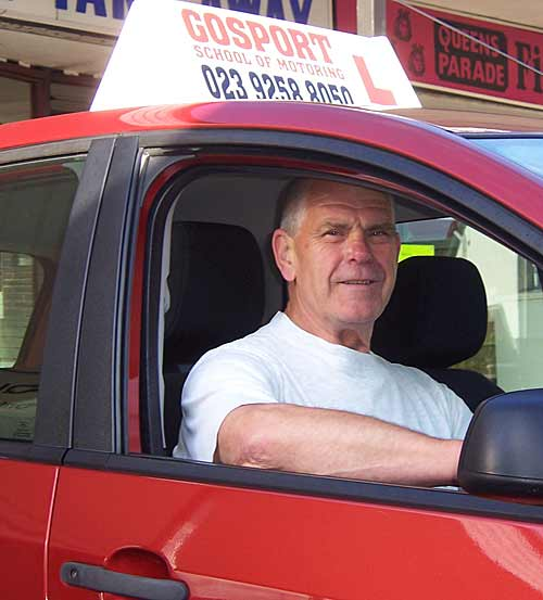 Driving lessons gosport - from driving instructor Joe Picken